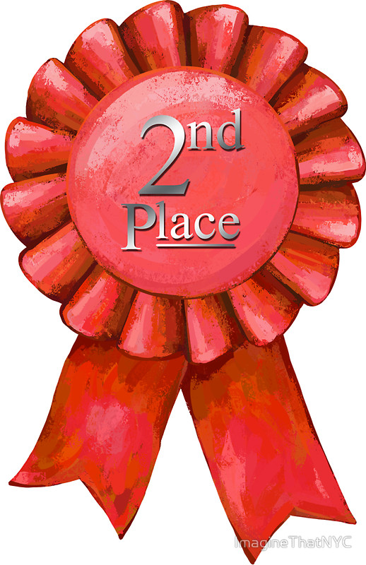 Second Place Ribbon Clipart.