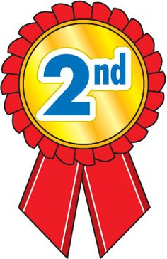 2nd Place Clipart.