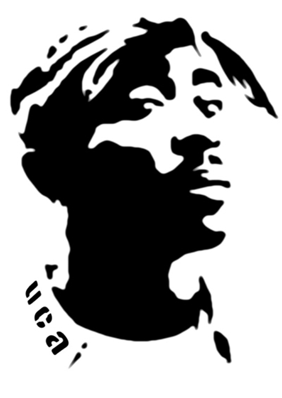 Tupac Shakur Transparent PNG, 2Pac Clipart Pictures Free.