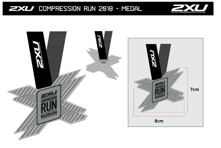 2XU Compression Run Malaysia 2018.