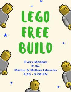 LEGO Free Build.