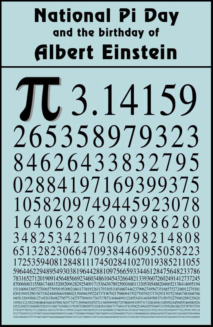 1000+ images about Life : Pi = 3.14159 on Pinterest.