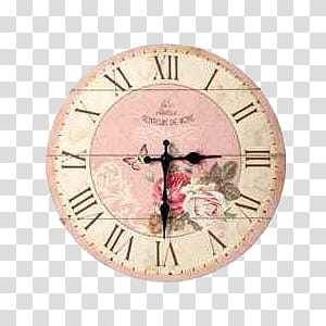 Clock, clock on : transparent background PNG clipart.