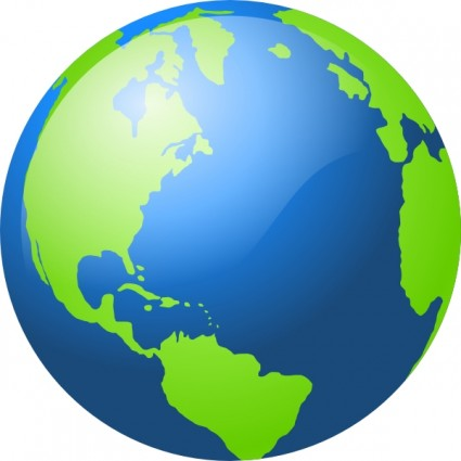 Globe earth clipart black and white free clipart images 3.