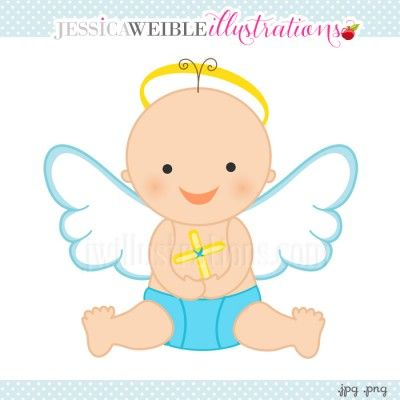 Baby boy angel clipart 3 » Clipart Station.