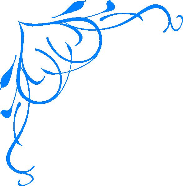 Blue Line Clipart.