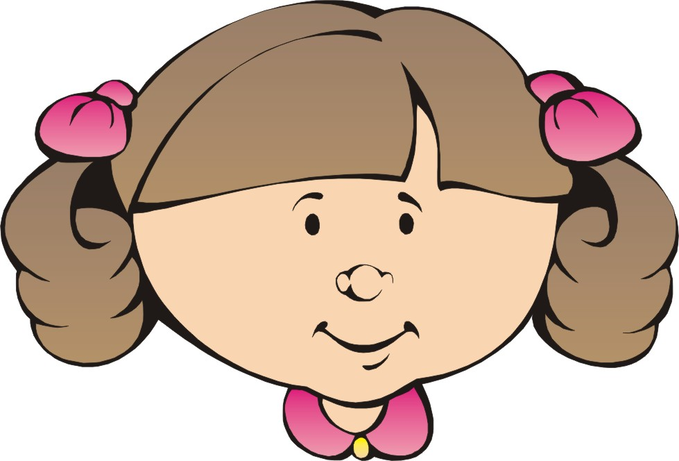 39414 Face free clipart.
