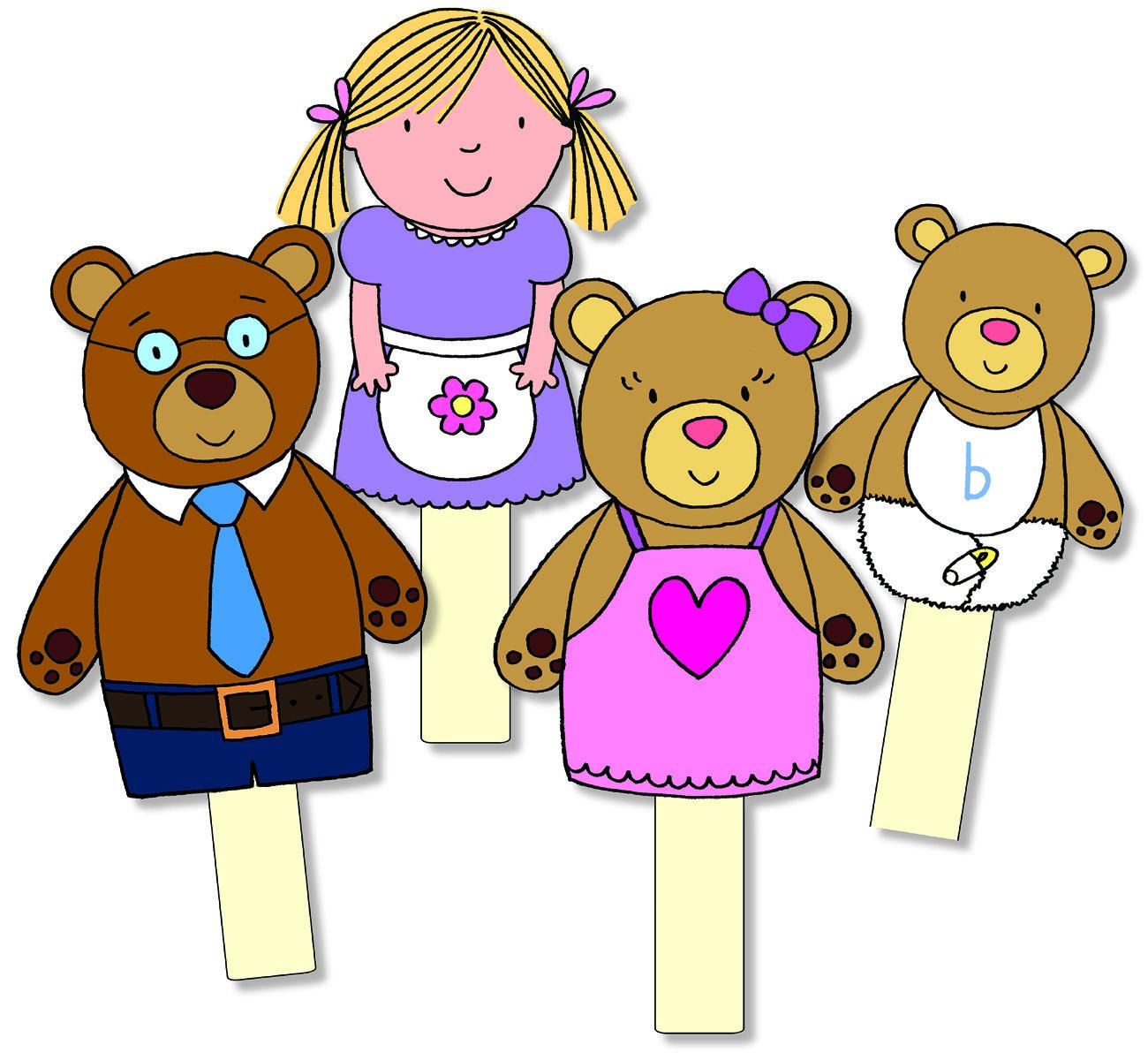 Goldilocks And The Three Bears Clipart at GetDrawings.com.