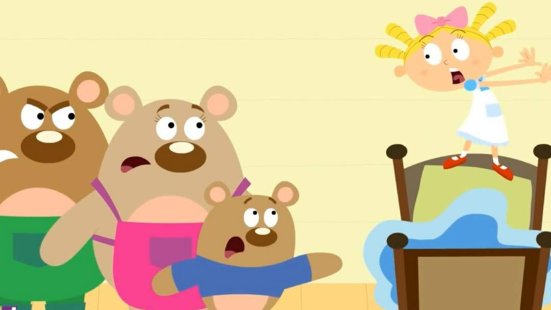 Watch The Story of Goldilocks and The Three Bears.