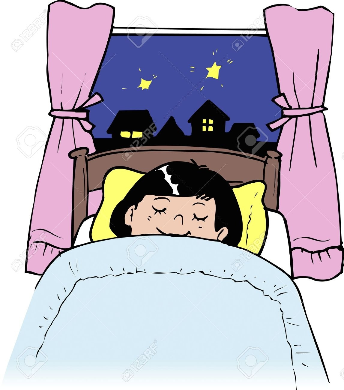 261 Going To Bed free clipart.
