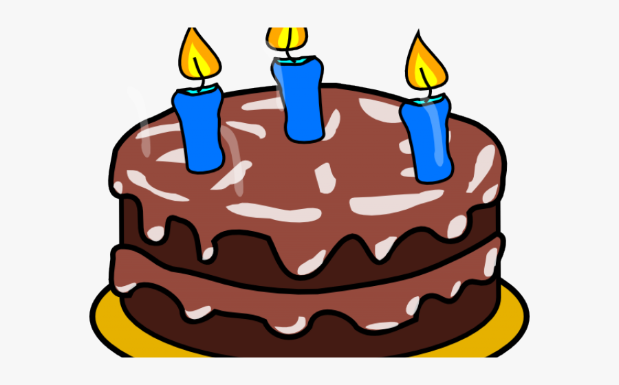 Birthday Cake 3 Candles Clipart , Free Transparent Clipart.