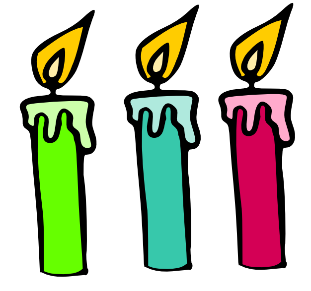 Free Picture Of Birthday Candles, Download Free Clip Art.