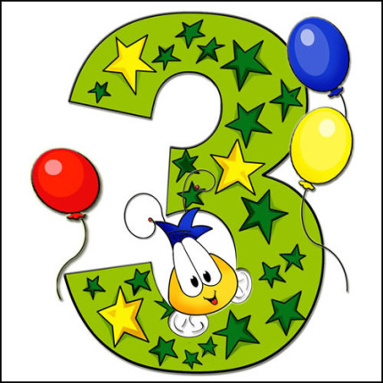 3 year old birthday clipart 3 » Clipart Station.