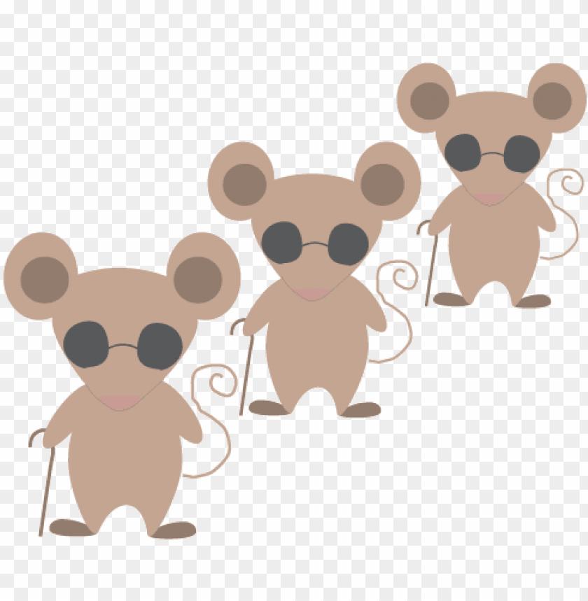 3 blind mice.