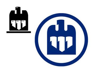 Three black lines Logos.