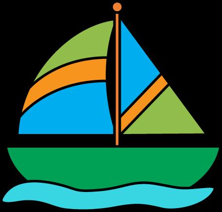 264 Sail free clipart.
