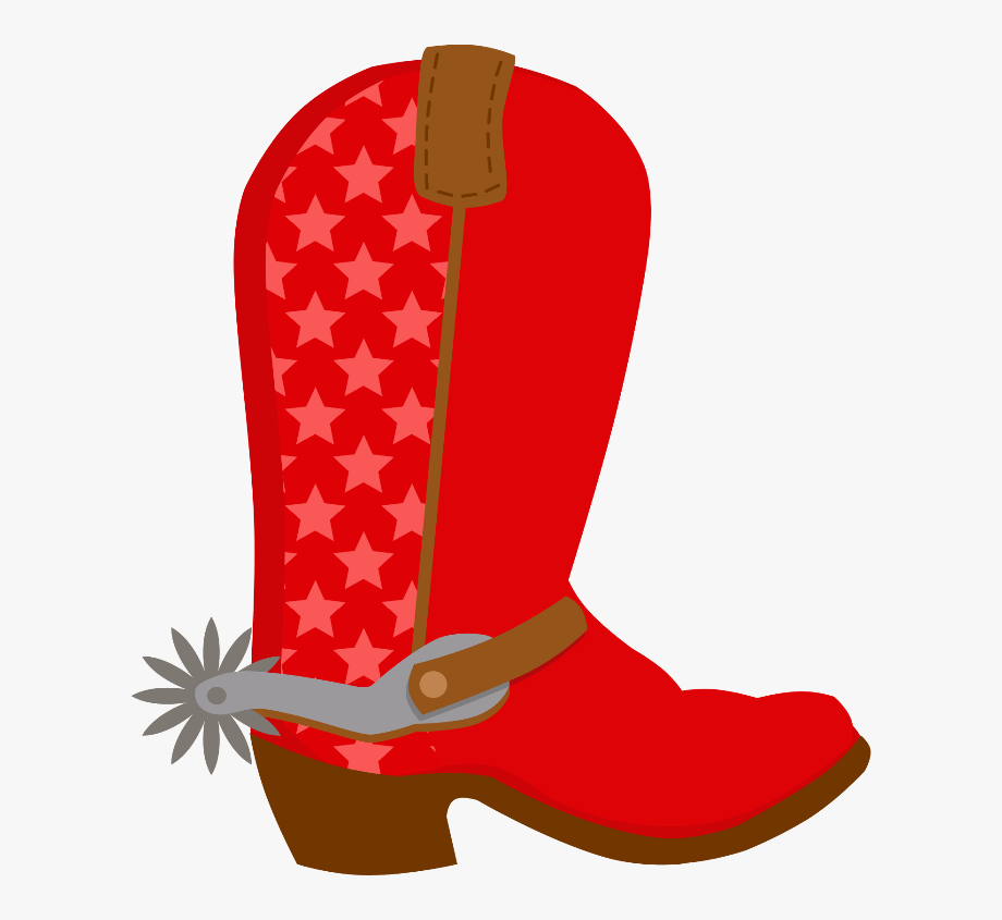 Red Cowboy Boots Clipart 3 By Virginia.