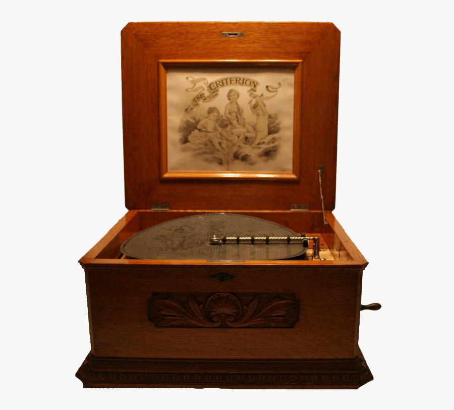 Criterion 15 3/4″ Disc Music Box.