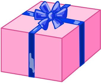 Gift birthday present clip art free clipart images 3.
