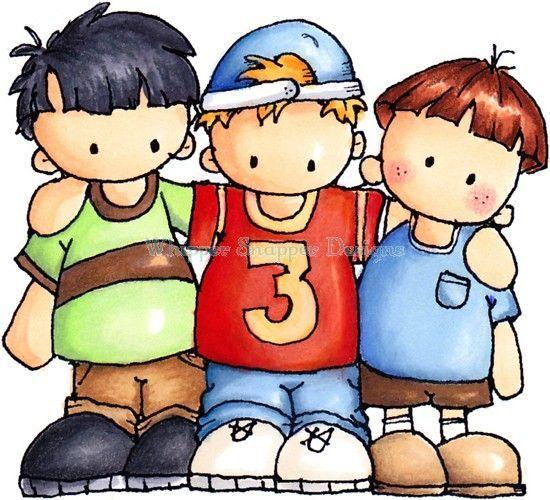 3 boys clipart 4 » Clipart Portal.