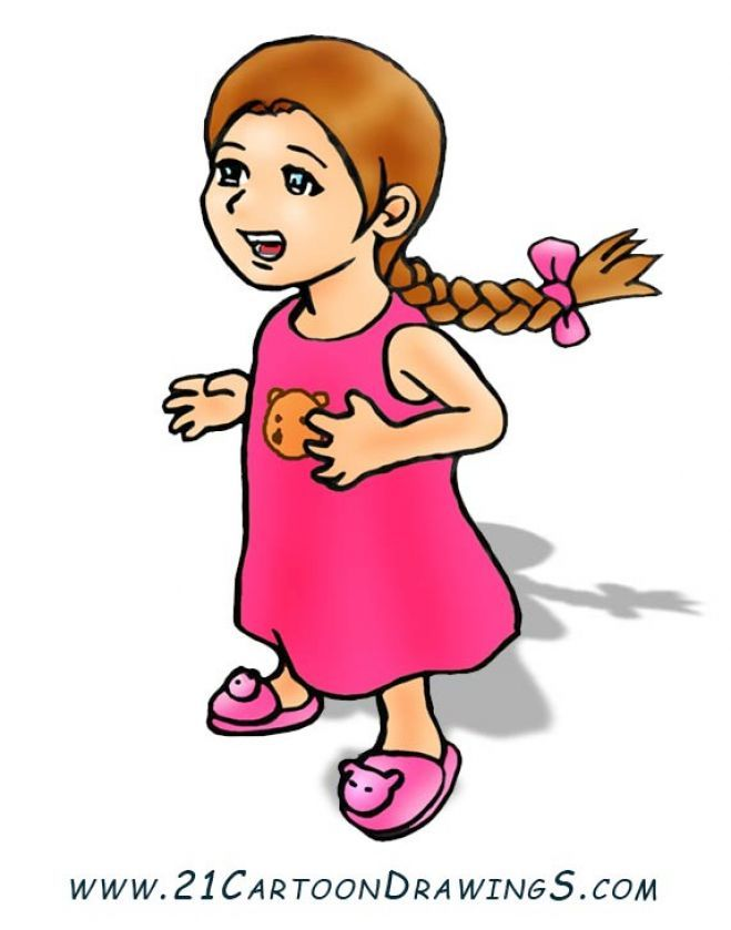 Little Boy And Girl Old Clipart & Free Clip Art Images #23395.