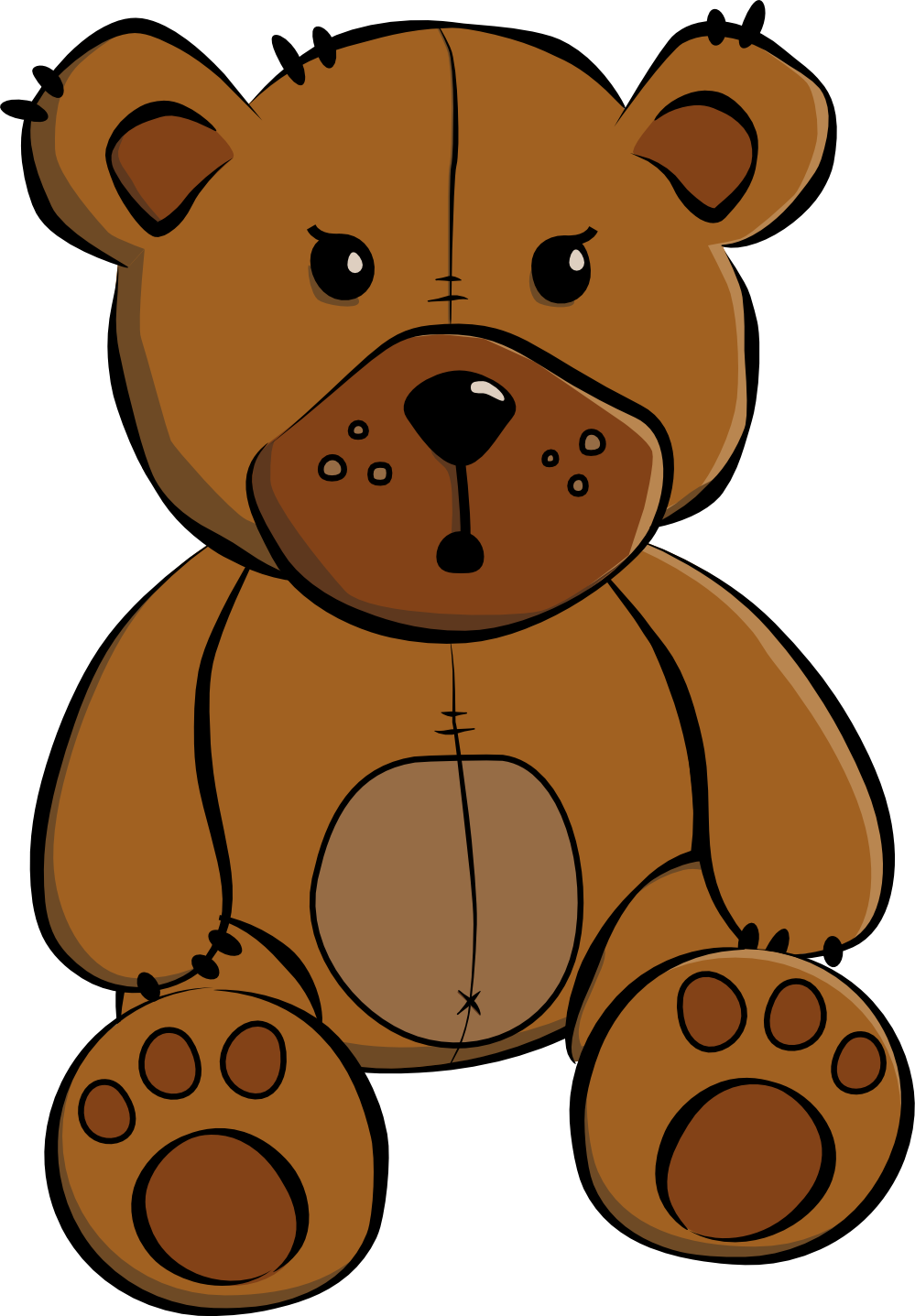 Teddy bear clipart free clipart images 3.