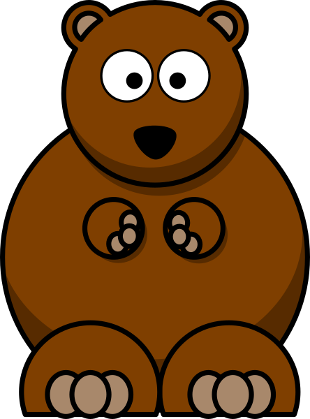 Brown Bear Kid Clip Art at Clker.com.