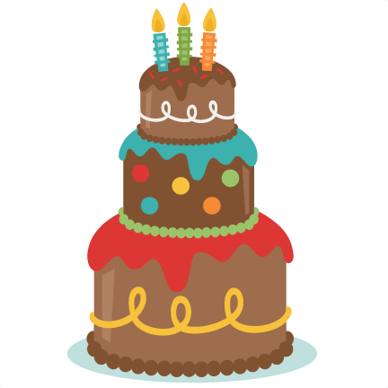 3rd birthday cake clipart 3 » Clipart Station.