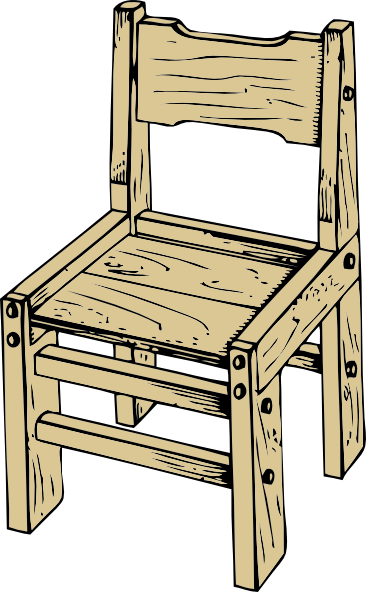 Wooden Chair Clip Art at Clker.com.
