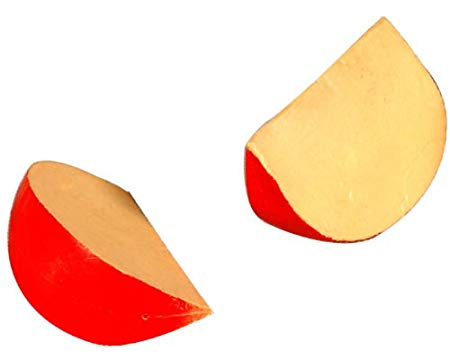Plastic Dutch Edam Cheese Wedge.