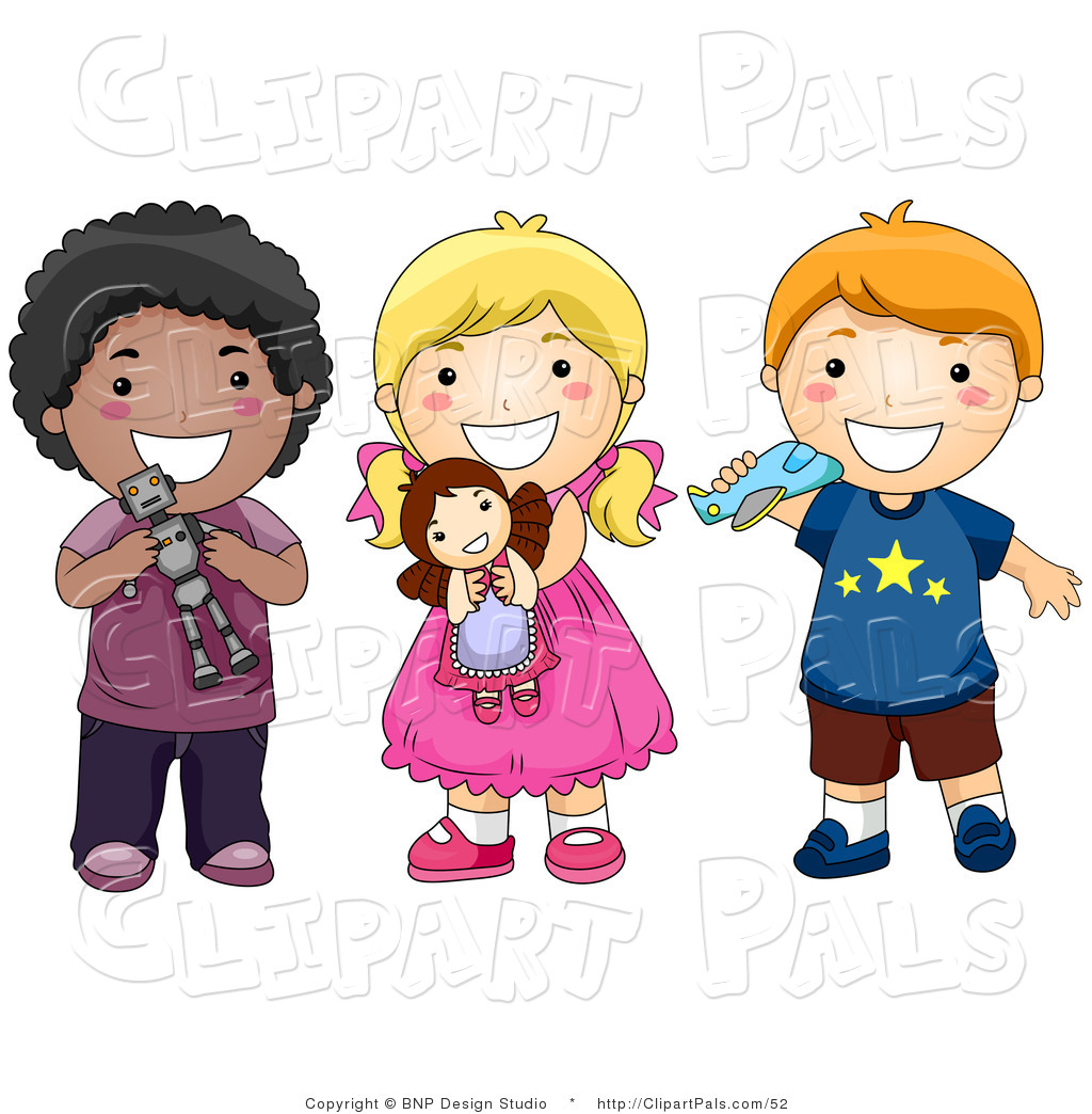 Children playing with toys clipart 3 » Clipart Station.