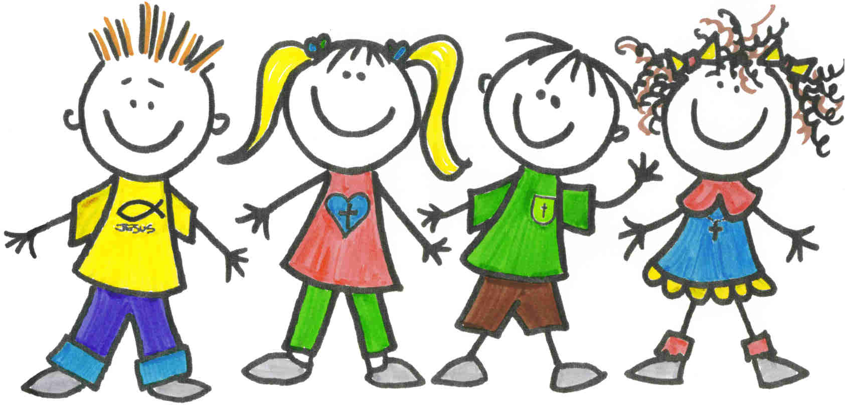 Children clipart abvas 3.