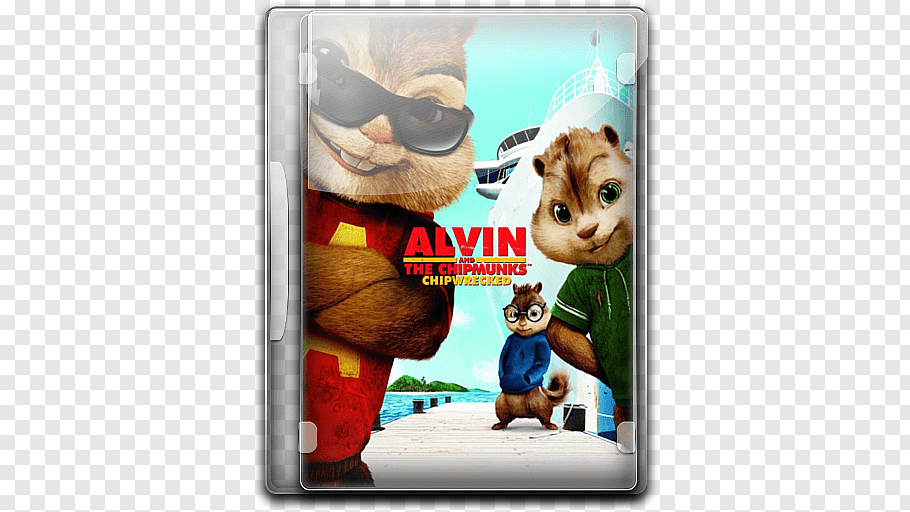 Alvin and the Chipmunks case, snout dog like mammal.