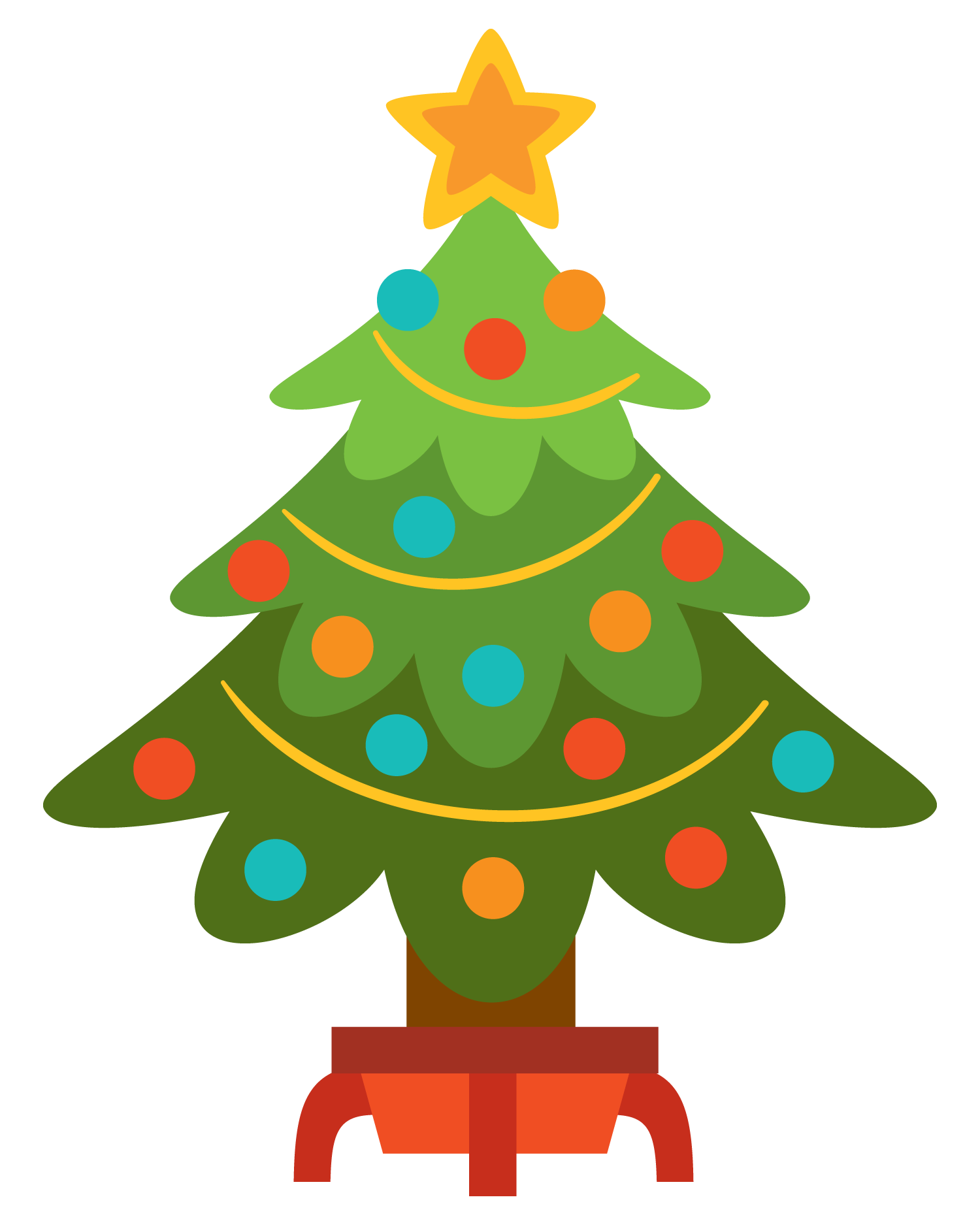 Free Christmas Tree Clip Art, Download Free Clip Art, Free.