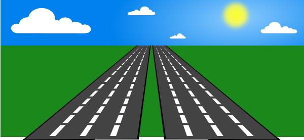Open Road Clip Art at Clker.com.
