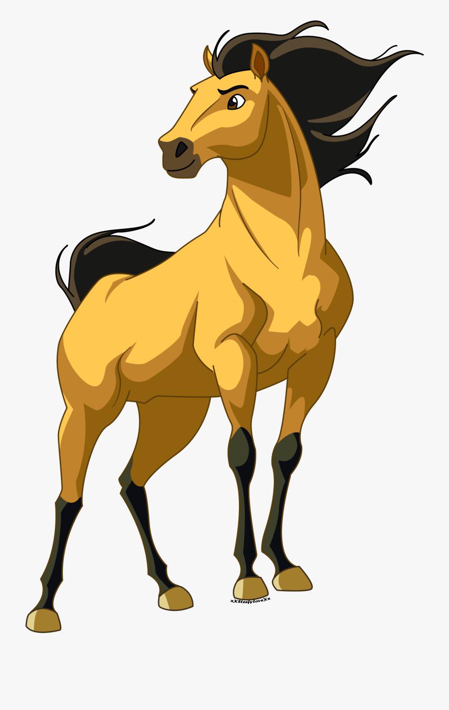 Boho Clipart Horse.