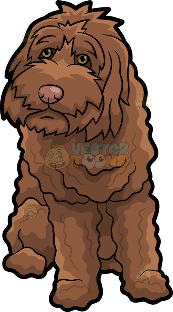 Brown dog clipart 3 » Clipart Station.