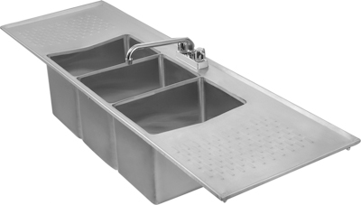 3 compartment sink clipart Transparent pictures on F.