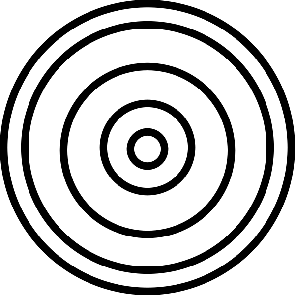 Concentric Circles Clip Art at Clker.com.
