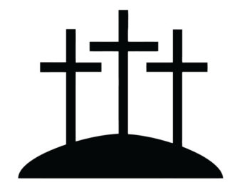 3 crosses clipart 2 » Clipart Station.