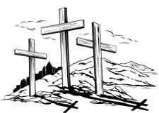 3 crosses clipart #11