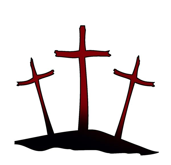 Three Crosses.