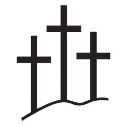 Three Crosses Drawing.