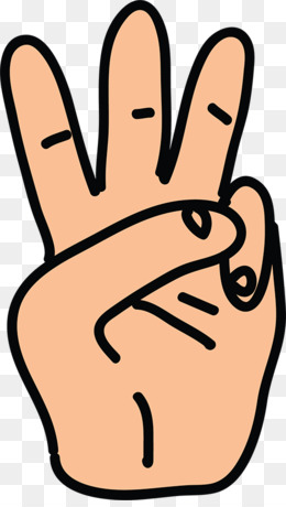 Three Fingers PNG and Three Fingers Transparent Clipart Free.