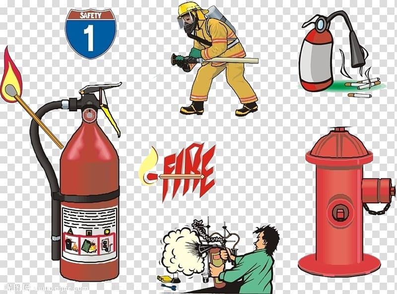 Firefighter Firefighting Fire alarm system Fire alarm.