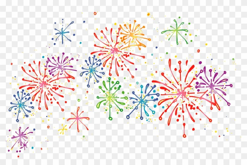 Fireworks Clipart Transparent Background #872242.