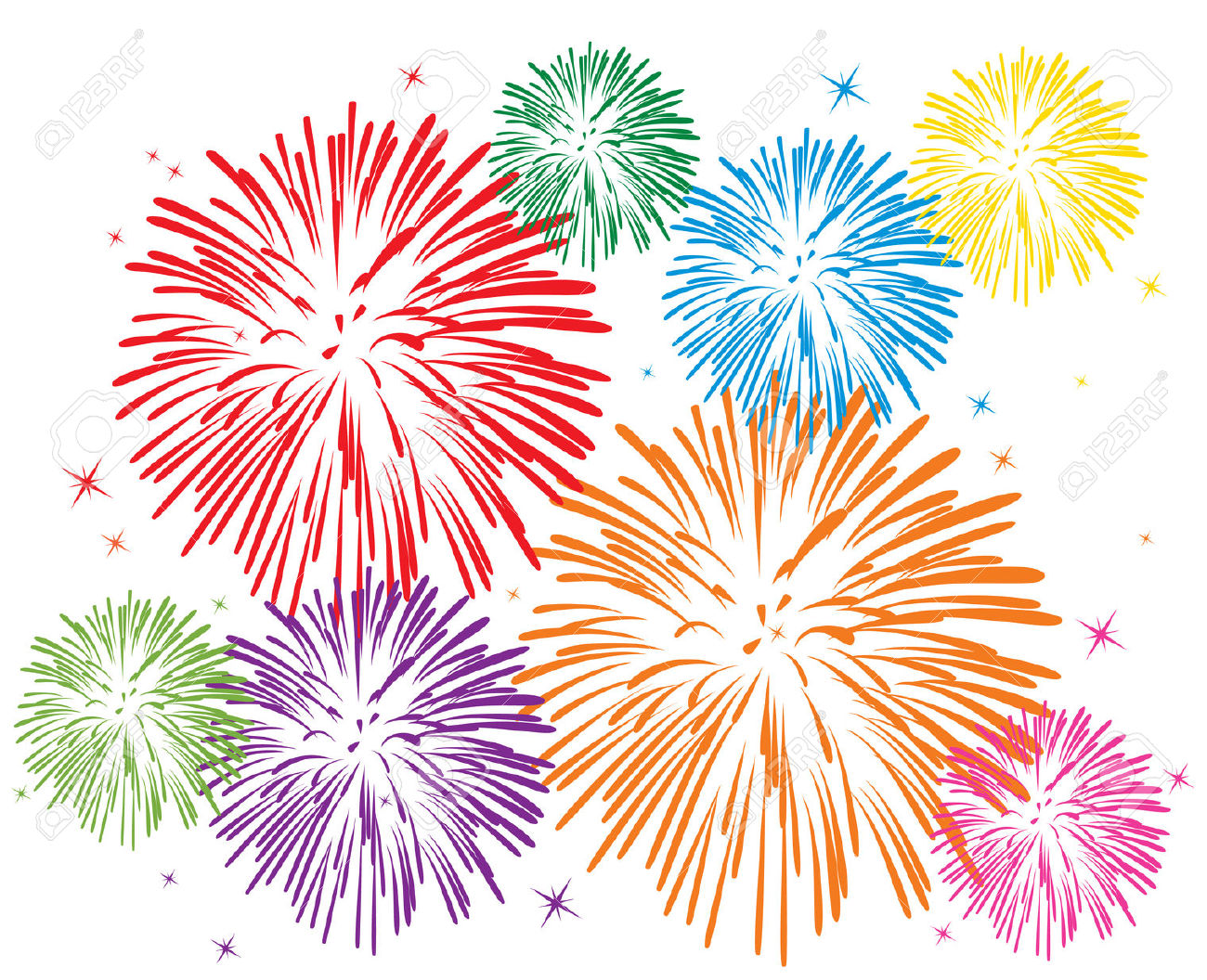 Firework clipart no background 3 » Clipart Station.