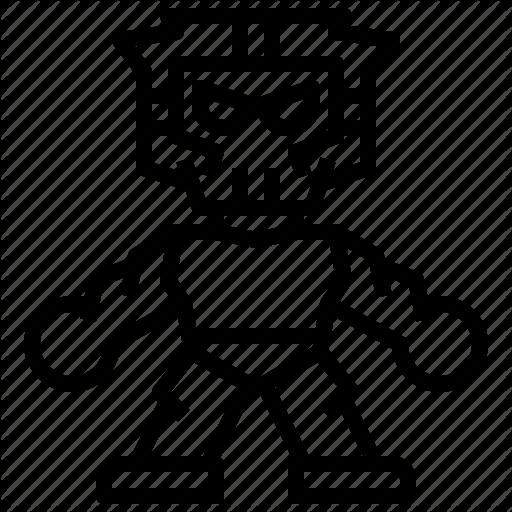 \'Ninja Turtles Outline\' by Surang JJ.