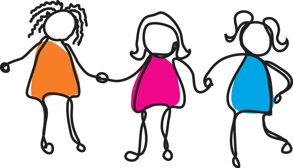 Group Of Friends Clipart.