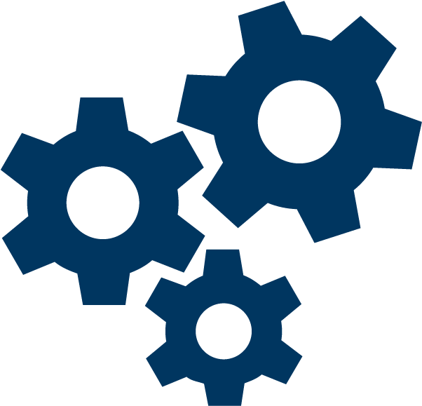 3 Gears Icon.